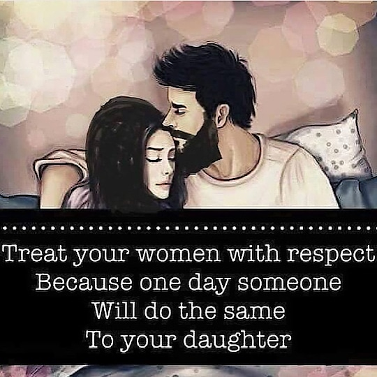 So guys please respect your wife nd woman's 👍👍👍😍
