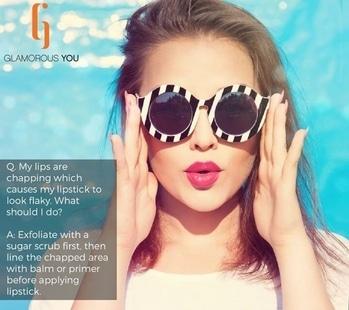 Chapped lips? Don't worry. #lips #makeuptips #muaindia #muadelhi #lipsense #chapped #chappedlips #skincare #makeupaddict #beautyhacks