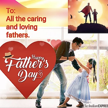 To all fathers wishing you happy fathers day.