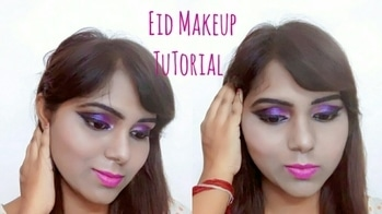 hi guys new video is up on my channel please check that out.video link is in the comment box. #makeup #eyemakeup #eyemakeuplook #youtuber #indianyoutuber #beautybloggerindia #bold-is-beautiful #lovedoingmakeup #makeuplovermakeupblogger #ytkolfam #prettyinpink #prettyme #eidmakeup #eidmakeuplook #eidmakeuptutorial #fashionbloggerindia #summer-style #pop