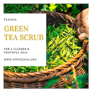 #Fuschia #greentea #clarifying #face and #body #scrub is now available in #50gm and #100gm size options on www.myfuschia.com .   #Aloevera #wheatgerm #slsfree #slsfreeskincare #parabenfree #phthalatefree #skincarebloggers #beautygram #beautyblogging #cosmeticslover #madeinindia #nottestedonanimals #ChemicalFree #CrueltyFree