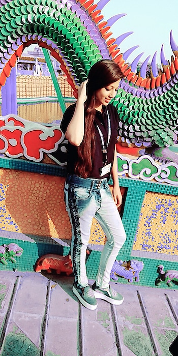 for everything u have lost 💞❌ you have gained something else ❤😍   #smileinstyle #trip #bluejeans #hair #staybeautiful #stayhappy #stayclassy #beloyal