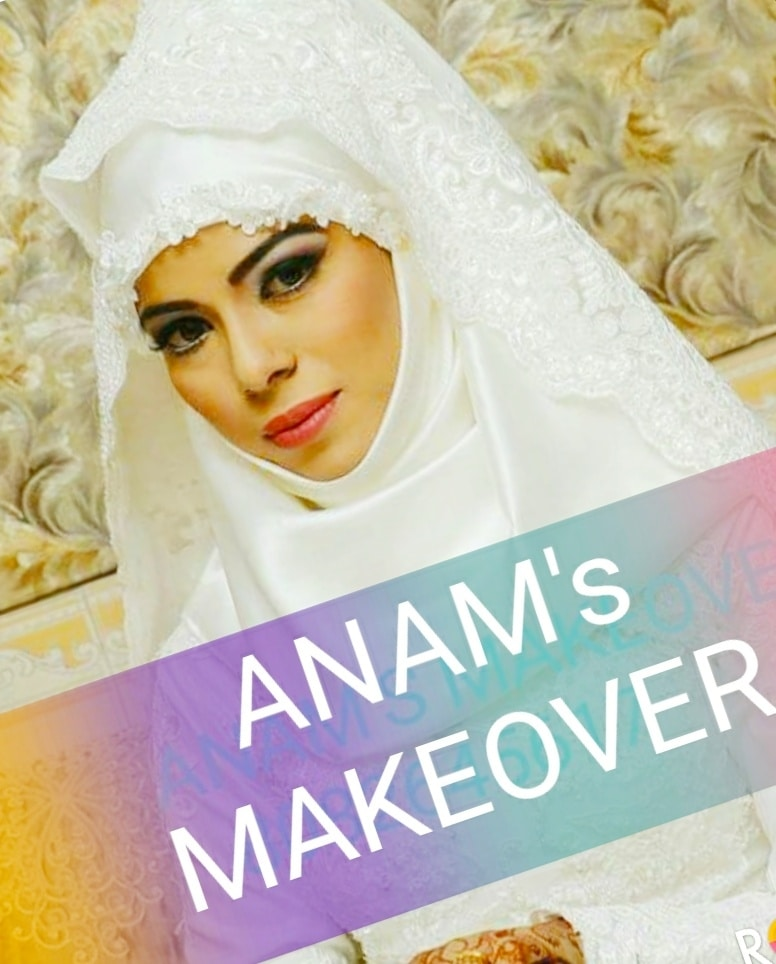 #anamsiddique  #anam's makeover #makeupartist #international #hairstylist