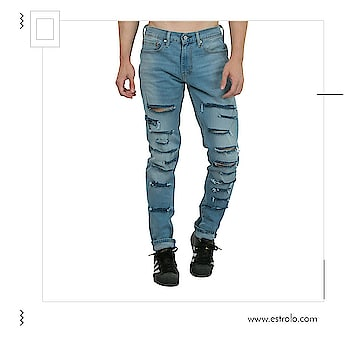Create A Unique & Fashionable Look With Estrolo Designer Denims. Shop Now at https://goo.gl/9muu91  #estrolofashion #denimized  #jeans #fashionables #designerdenims #fashion #online-shopping #shopmore #shopaholic #denimcollection #onlineshoppinginindia #roposobazaar #stylishmen  #trendyclothes