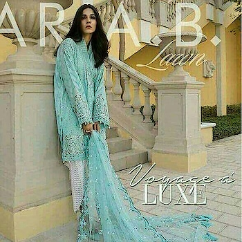 #exclusivecollection #wowshoppee #wowchannel #maria b#luxurybrand #summer-fashion #summer-style #summer-looks #wowcollection #cutwork #embroiderywork #pearlslove #chiffondupatta #tasselslove #netdupatta #handwork-embroidered #awesomelook #affordablefashion #affordableprices #   watsapp @7869677637 or 7974527632  fr orders or queries