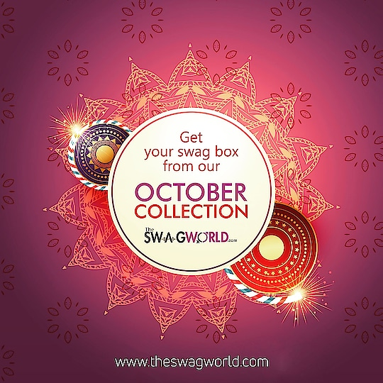 Book your #octoberswagbox now . Click the link .  http://www.theswagworld.com/home/subscription_plan . Or just visit the website . www.theswagworld.com . Also check out the #swagcombos on our website . #subscriptionbox #monthly #theswagworld  #theswagbox #independenceday #indianindependenceday #subscriptionboxaddiction #varietiesofswagbox #loveforsubscriptionbox #ladiessubscriptionbox #classicswagbox #miniswagbox #swagboxwithabonus #princessswagbox #curateyourswagbox #stylemyswagbox #trendyjewelry #statementjewellery