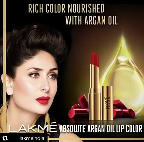 #Trend #Launch 15 new lipstick shades by Lakme infused with Argan oil, are out.  GLOSS and GLOW, ladies.