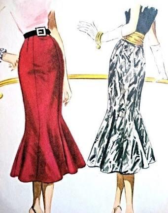 #trumpet skirts