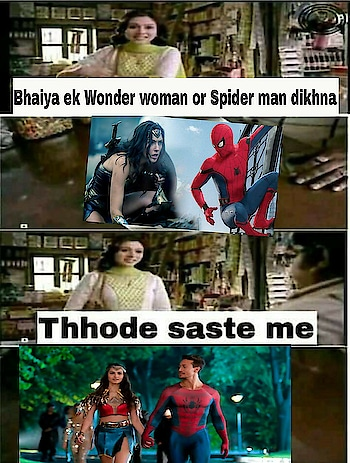 #savages #studentoftheyear2 #softy #savagelife #savagememes #spidey #wonderwomen