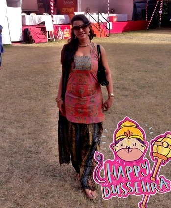 Happy Dusshera peeps  #dussehra #happydussehra #festival #traditional #traditionalwear #indianwear #salwarkameez #roposo #roposowoman #soroposo #roposolove #happydussehra