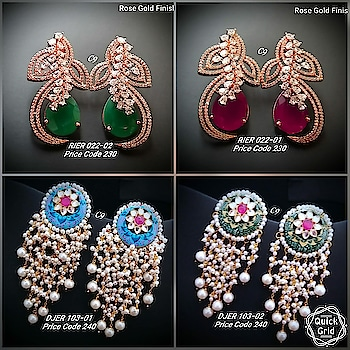 Price : 2100rs each pair/ swipe across ➡️ Shop outside the box wid thse unique statement earrings from our bridal collection😘 😊grab at the earliest! #earring #grabnow #newarrival #beautifuljewellery #igers #celebrityjewellery #delhi #mumbai #uniquejewellery #jewelsofinstagram #glamorzia #streetstyle #trendy #uberchic #jewelleryaddict ##celebrityjewellery #colorful #jewelleryaddict #colorpop #shopaholic #onlineshopping #shopoutsidethebox #gorgeous #asians #indianwomen #fashionaccessories #fashionjewellery #