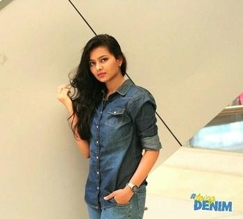 My Denim Casual Shirt..#denim-love #denim #shirts #look-book #fashion #styles #blue #travel #photoshoot #love #live #explore #bandrastreetshopping