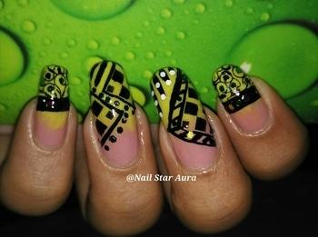 Abstract Nail Art using Stamping technologie........ #nails #nailstaraura #nailart #nailartoftheday #nailartclub #nailartbyme #naildesigner #youtuberindian #youtubecreatorindia #stamping #nail-designs #nailsroposo #roposo #roposotalenthunt #nailartdesigns  #nailoftheweek #nails2inspire #nailartaddicts  #nailblogger #nailartindia