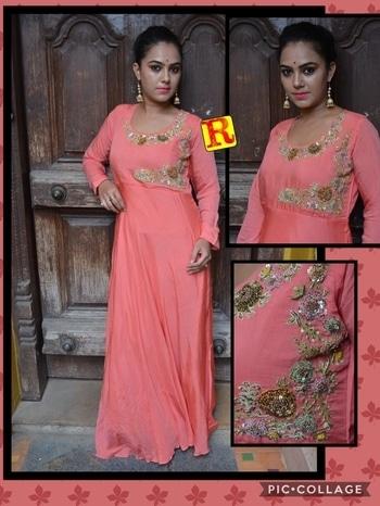 #stylishwear   #evening-gown #embroidery #newdesign #stylishwear #bangalore