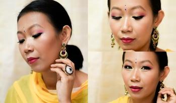 Look created for Durga puja.  . . #youtuber #youtubeindia #indianyoutuber #indianbeautyblogger #ta_ma #mua #asianeyes  #monolidmakeup #makeup  #makeuplover #powerofmakeup #bblogger #ytcreatorsindia #bbloggerindia #motd #makeuplover #indianfestivelook #puja #durgapuja2017 #durgapujamakeup #colourpopfairplay #maybelline