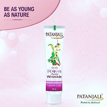 #patanjali anti wrinkle cream  rs-150