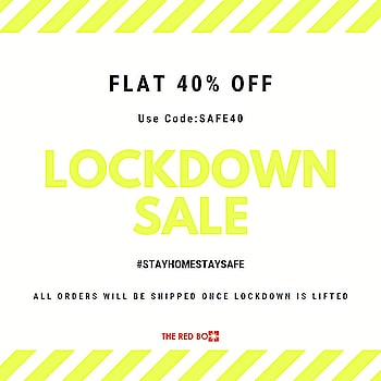 Don't lock down the Shopaholic in you! #lockdownsale 💣 . . . . . #theredbox #sale #fashionista #shopaholic #instafashion #quarantineandchill #stayathome #shoponline #covid