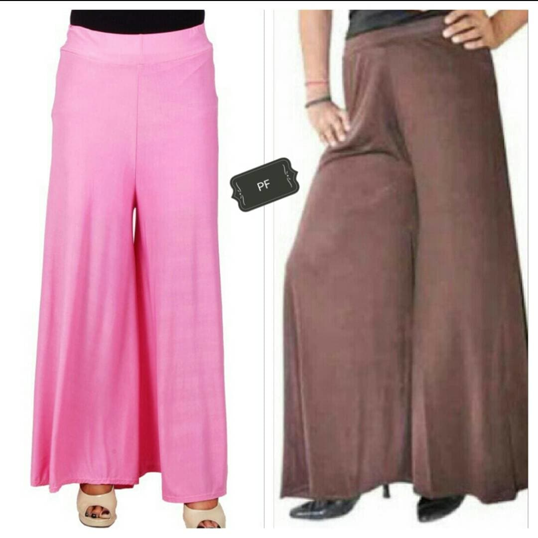 *Plain Lycra plazoo with divider inside suitable for l xl xxl , 32 to 38 waist ,@ 570+⛵