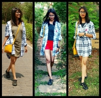 Lookbook - 1 Shirt Dress, 3 Ways!  There's a new post on the blog! Go check it out now. https://smilesnstuff.wordpress.com/2017/06/22/lookbook-1-shirtdress-3-ways/  (link in the bio)  . In this one I've styled one dress in three different ways. Let me know in the comments which one is your kind of style? . . . #smilesnstuff #thesmilesnstuffgirl #fashion #fashionblogger #bombayblogger #lookbook #styleblogger #ootd #inspiration