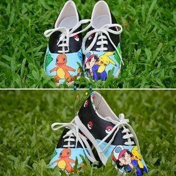 Handpainted Shoes, customized to theme of your choice.  Can customize your own shoes also!  Super hot and Unique gifting option. Go surprise your friends!   Category : Unisex Size Available : UK 3 to UK 10 Material of HAW shoes : Canvas Price : INR 2200  Vans & Converse options available with different pricing.  Payment Mode : Paytm, Bank Transfer   #handpaintedshoes