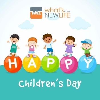 """Children are the World's most valuable resources and its best hope for the future."" What's New Life wishes very Happy Children's Day to all.  #HappyChildrensDay"