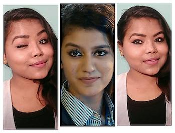 watch my latest video on YouTube link in my bio must watch #ytcreatorsindia #ytcreator #ytindia #gwalioryoutuber #indian #inspiredlook #priyaprakashvarrier #makeup makeup #hd makeup #makeup and eyes makeup #naturalmakeup #inspired #makeup #pyarekdhokahai