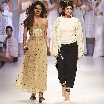 FDCI & HONOR 9i#Amazon India Fashion Week 2018#honor show @HiHonorIndia#in association with NEXA#The 'Munna Michael' star #anx media#turning heads in a gold ensemble#show stopper#Nidhi Agerwal# gypsy meeting a pretty # prom girl collection # bling bling# gold look# comfy# Spring/Summer 2018#Visit us at our dlf emporio store for our latest collection #rinadhaka #dlfemporio #weddings #newcolletion #gold #glitter #indian #bridestyle #shimmer #bridestyle #indianwear #elegant #beautiful #dhotipants #indianbride #luxurydesign #instashop #instalove #buynow #getthelook