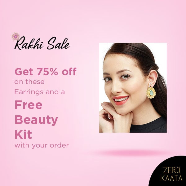 We're giving a FREE #beautykit with every order of Rs 499 and above  Shop now at our #rakhisale and get up to 80% sitewide  Visit www.zerokaata.com to shop  #zerokaata #tribalbyzerokaata #rakhigifts #rakhigiftsforsister #giftsforrakhi #rakshabandhanspecial #rakshabandhan #rakhi2019 #rakhigiftforsister #rakhigiftstosister #rakhigiftsforsisterunder500 #rakshabandhangifts #festivaljewelry #festivaljewellery #festivecollection #festiveseason #festivalfashion #festivevibes #giftsforwomen #giftsforgirls #giftsforyou