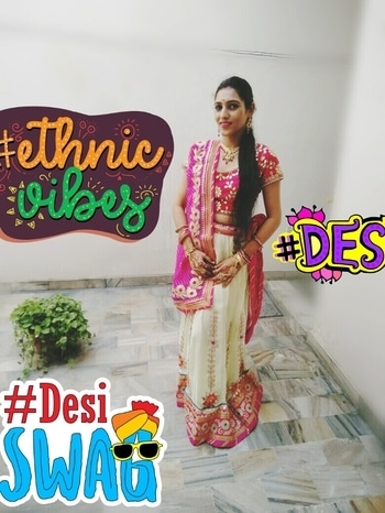 #mystylemantra #roposo #roposogal #roposotalenthunt #roposogal #traditionalstyle #ethnic-wear #ethniclook  finally cracked the code for my perfect karvachauth look #desi #ethnicvibes #desiswag