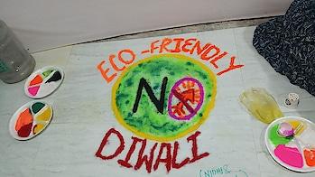 Happy diwali.... #diwali #ecofriendly #saynotocrackers