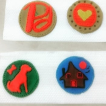 For orders Contact me !! Clay badges made by me ! @roposobusiness  #like  #comment #followme #customized #pieces #are #available #on #every #order #contact #on #instagram @being_poojawesome