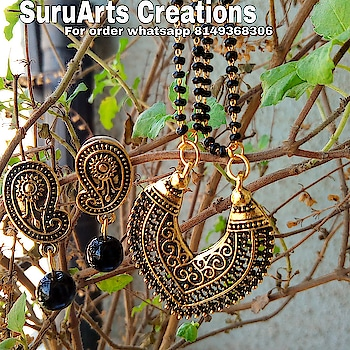 Price- 250 ₹ Antuque Flower Mangalsutra For order whatsapp 8149368306 Inbox me.   👌👌👌👌 ➡️ Great value of money ➡️Low price ➡️ Explore more Designs ,follow us on Instagram ➡️Like our Facebook page - @suruarts_creation   -_______--------- #mumbai_igers #nacklace #pune #jewerly #onlineshopping #creations #passions #antiques #nashikcity #navimumbai #fashion #fashionable #actress #mumbaikars #shopinstagram
