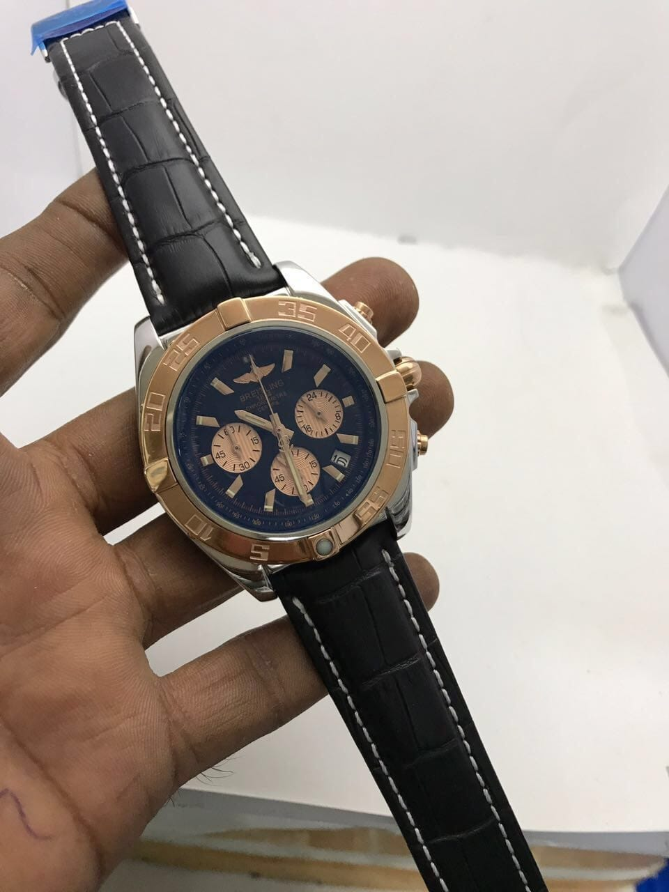 ⛔BREITLING WATCH FOR LADIES⛔ ⛔BEST QUALITY WATCH ⛔ALL CHRONOGRAPHS WORKING⛔ ⛔STOP WATCH MACHINE WORKING⛔ ⛔DATE WORKING⛔ ⛔BRAND NAME ON BACK&LOCK&LOGO KEY⛔  ⛔₹₹@3600/- FREE SHIP ALL INDIA⛔  TO BUY SEND DM OR WATSAAP 9999142594  Chat with me on the #RoposoApp to buy this product! #roposo #thebazaar #roposochattobuy #fashion #shopping #shop #buy #seller #newarrival #onlineshopping #latesttrend #fashionpost #fashionlove #fashionoftheday #fashionlook #fashionlover #trending #trendyfashion #onlineboutique #onlinestore #onlineshop