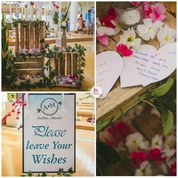 Wish Tree at The Leela Palace Kovalam by F5 Weddings