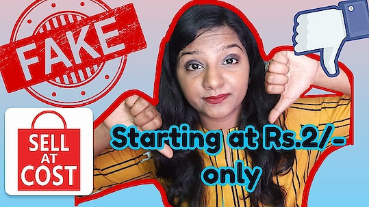 Products starting at Rs.2/- Only..! Sell at Cost app FAKE.? Exposed Reality of Sell at Cost app..! Check out my new video on Youtube  Video direct link in BIO  #sellatcost #cheapesthaul #sellatcostapp #reviewofcheapestapp #chineseapp #clubfactoryapp #mostcheapesthaul #fake #exposed #realityexposed #fashion #beauty #skincare #trending #india #youtubeindia #youtube #23likezz