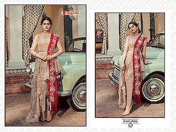 """✅Ready to Ship now..✅  Fepic *ROSEMEEN PREMIUM*           👇🏻Fabric details 👇🏻 Top : Faux Georgette/Net Bottom   : Santoon Inner : Santoon Dupatta : Nazneen /Net Unstitched material  *Singles @ 2199/-*  Grab ur orders fast !! 💯% orignal product✅ 👉Prices inclusive of GST Tax 👉Sorry but No COD available 👉Payment modes - cash/cheque deposit// netbanking// creditcard// debit card payments/ western union / paypal/ payumoney/paytm 👉Free 🆓 delivery in India 👉Worldwide shipping available( Feel free to ask us shipping rates for your country) 👉Stitching as per measurement ( Tailoring) available with us. 👉To order whatsapp or Imo on 0091-9004659896 👉Call/sms/viber/tango on 00971-557204351 👉Skype Id - rooshfab 👉Follow us on www.facebook.com/olayla123 👉Instagram - olayla online boutique 👉For How to order kindly check on https://www.facebook.com/notes/o-layla-online-boutique/ 👉how-to-book-your-order-with-o-layla-online-boutique-/545844065509296  👉For return policies kindly check on  https://www.facebook.com/notes/o-layla-online-boutique/returns-and-refund-policy-with-o-layla-online-boutique/868169839943382 👉Follow us on http://www.roposo.com/@olayla 👉To register for regular collection updates on whatsapp, drop us a whatsapp message on 0091-9004659896 with your name and city and text - """"Add Me"""""""