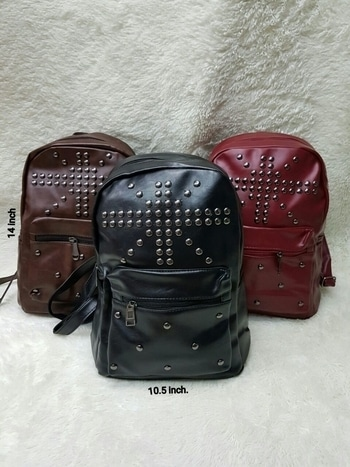 ❤NEW STOCK AVAILABLE❤ HIGH QUALITY👍 Excellent👌 Condition BEAUTIFUL COLLECTION OF ✋🏻HAND ✊picked #Bagpack👝👛👜 Affordable price💸 HIGH QUALITY products,  Price: 600