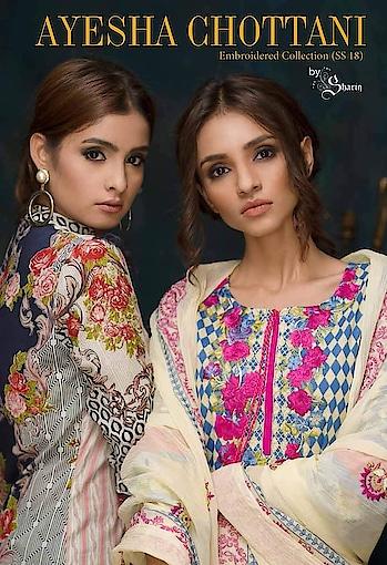 #ayeshachottani#embroideredsuit# #wowshoppee #wowlooks #collection  #wowshoppee #summerclothes #embroideredsuit #wowstyle #  watsapp @7869677637