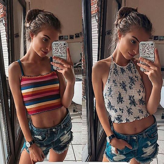 which one? comment below  #women-fashion #fashion #croptop #teen_fashion #teenoutfits #outfits #cute #streetstyle #streetwear #fashionables #followformore