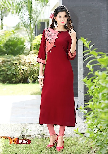 *KURTI*  FULL STICHED KURTI  FABRIC - 14 KG HEAVY RAYON ( hand embroidery work )  LENGTH - 46  SIZE - L XL XXL  PRICE - *Rs. 650+ship*   READY TO SHIP   Direct Message us or whatsapp on 9867764381   Follow us 👉🏻on FB:  *https://www.facebook.com/Stylista-Fashionss-2137660539847810/*  #stylistafashionss #style #fashion #trend #readysuit #dressmaterial #ethnic #western #fashionjewellery  #handbags #kurti #botttomwear #onestop #shopping #saree #readymadeblouse #lookstylish #bethefashion #shopstylistafashionss #onlineshopping #bestquality #bestprice #bestbuy #swag