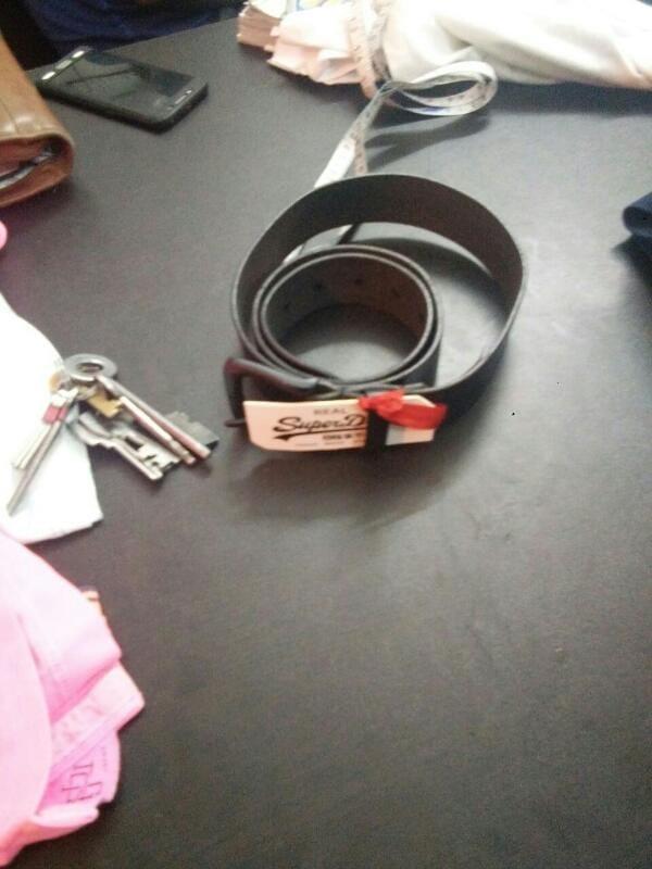 1st  copy  lather  belt