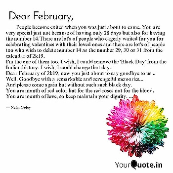 A goodbye letter to February. #dearfebruary #YourQuoteAndMine Collaborating with YourQuote Baba #blackday #february    Read my thoughts on @YourQuoteApp #yourquote #quote #stories #qotd #quoteoftheday #wordporn #quotestagram #wordswag #wordsofwisdom #inspirationalquotes #writeaway #thoughts #poetry #instawriters #writersofinstagram #writersofig #writersofindia #igwriters #igwritersclub