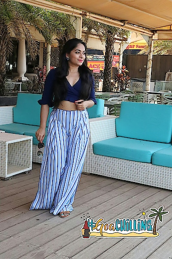 Throwback to this amazing trip in Goa  #goavibes #goatrip #lookgoodfeelgood #missamoreclothing #missamore #fashionquotient #roposotalks #travel-diaries #musafir #rangoli #trendingnow #twinklewithmystyle #goachilling