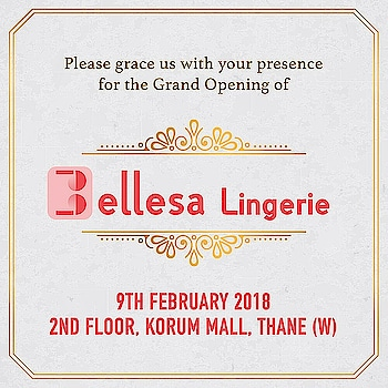 🎉🎊💝 Grand invite to all beautiful women and ladies.  Be the part of opening celebration at Korum Mall.🎉🎊👙👙 #Bellesalingerie #lingerie #korummall #lingerielover #fashionlingerie #fashionblogger #iifw #lingeriemodel #lingerieparty #celebration #opening #newlaunch #beautiful #weekend