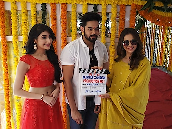 Actress #rakulpreet 's brother #aman  debut film launched today at  #annapurnastudios   Clap by #rakulpreet_official   Camera switch on by #lakshmimanchu  First shot directed by #sundeepkishan  and #rahulr  Story, screenplay & direction by #DasariLawrence under Rajini Film Corporation