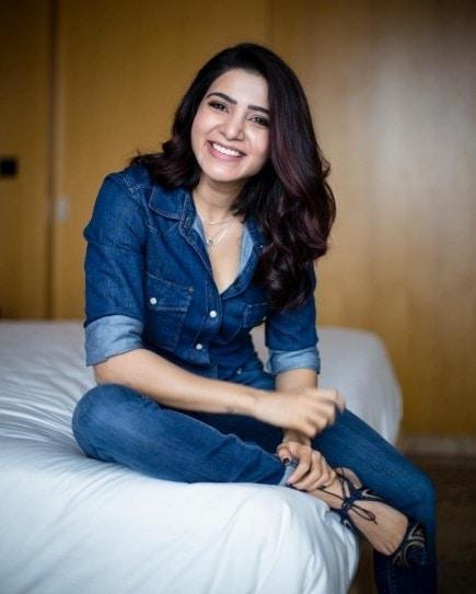 #samantharuthprabhu #jeanslove