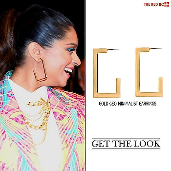 Be A Bawse of style like Superwoman Lilly Singh in our Geo Gold Minimalistic Earrings!  Swing it in Style - https://www.theredbox.co.in/en/get-the-look-lilly-singhs-earrings/🥂 . . . . . #theredbox #crazysexycool #spiceitup #iisuperwomanii #superwoman #lillysingh #latenighttalkshow #alittlelatewithlillysingh #goldenearrings #stylebawse #bosslady #getthelook #celebstyle #stylegame #minimalfashion #fashionjewellery #india #newyorkcity #youtuber #contentcreator #youtube #stylegen #urbanchic #shopping #shopforgood #swinginstyle #fashiongame #ootd #lookbook #celebrityfashion