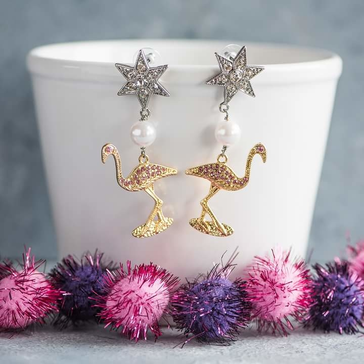 Stand a little tall darling.  http://theredbox.co.in/en/product/flamingo-starry-earrings/ .  .   . . . #theredbox #crazysexycool #star #flamingoearrings  #quirkyfashion  #happyshopping #instalove #instafashion #stealdeal #jewellerylove #jewelleryaddict #sopretty #lovinit #earringslove #stargaze #yass #bossbabe #girlcrush #slay #awesome #jewelrygram #rockstar #rockbaby #earringsoftheday #uniquejewelry#womensfashion #trendy
