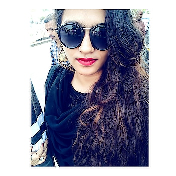 I hate getting flashbacks from things. I dont want to remember. I wish i could kill painful memories. . . . . #blackdress #sunglasses #jhumkalove #redlips #maybellinelipstick #indiandress #fashioninspiration #fashionblog #fashionistagrammer  #fashionbloggerindia #stylebloggerindia #fashionblogger #styleblogger #mumbaifashionblogger #mumbaiblogger #roposoblogger #acquiringanaqua #❤