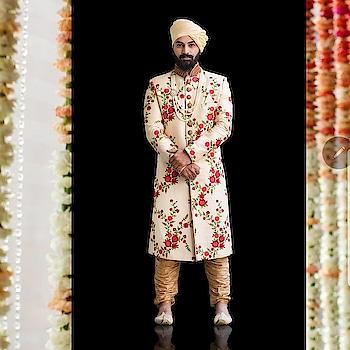 Embrace the florals this wedding season #floralsherwani  #royal #royalwedding #bride #groom #indianweddings #indianfashion #bigfatindianwedding #bigday #prep #bridalwear #groomwear #designerwear #bridallehenga #sherwani #rentanattire #rentyourlook #ownyourstyle #fashion #style #fashiononrent #weddingphotographers #weddingplanners #weddingdesigners #wedmegood #potd #instapic #instalike #indianwedings